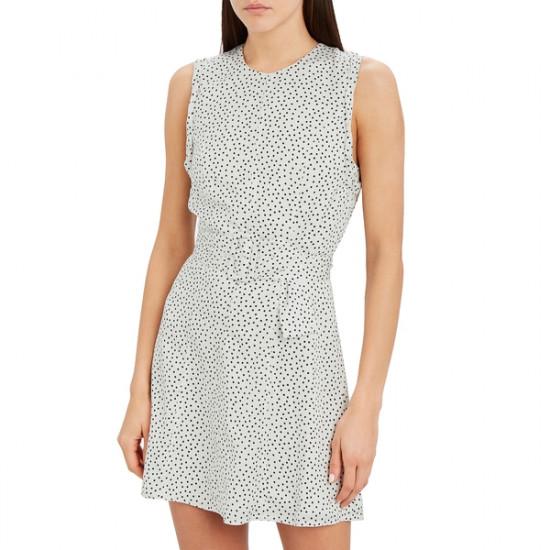 Alexis Dutsa Belted Polka Dot Mini Dress