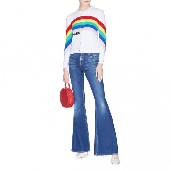 Alice + Olivia Ruthy Be a Rainbow Cardigan