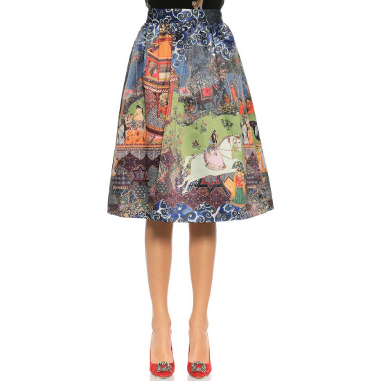 Alice + Olivia The Enchantress Printed Skirt