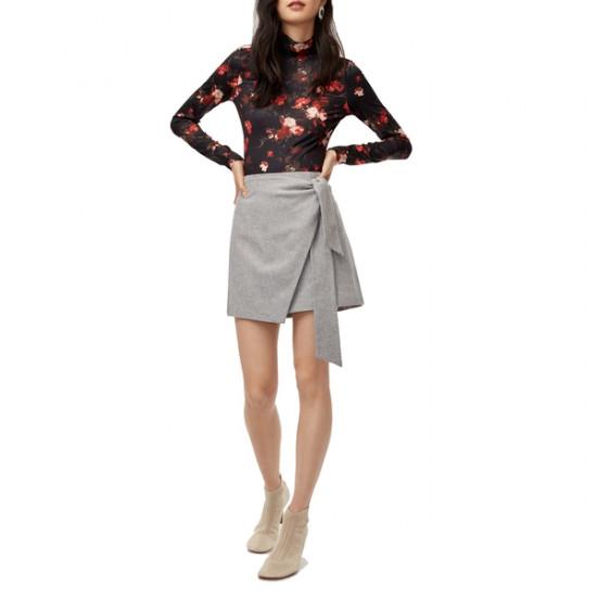 Aritzia Wilfred Dorine Wrap Mini Skirt