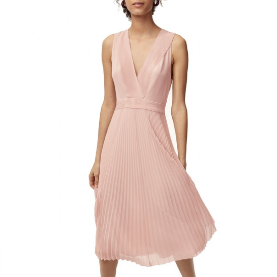 Aritzia Wilfred Julianne Midi Dress