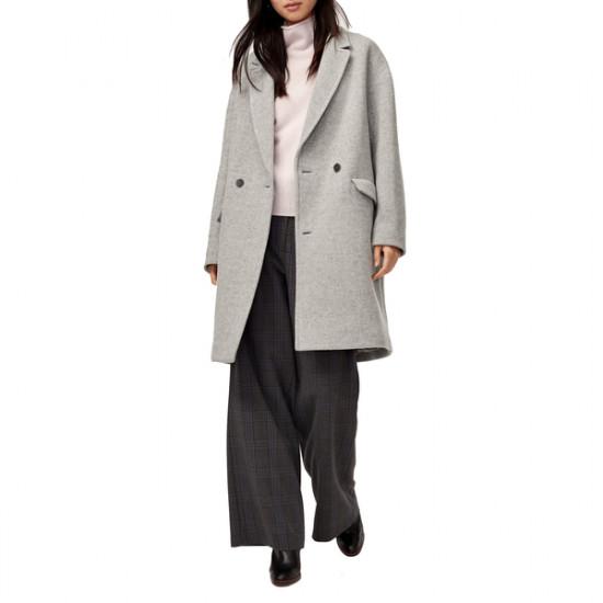 Aritzia Wilfred Lyon Double-Breasted Wool Coat