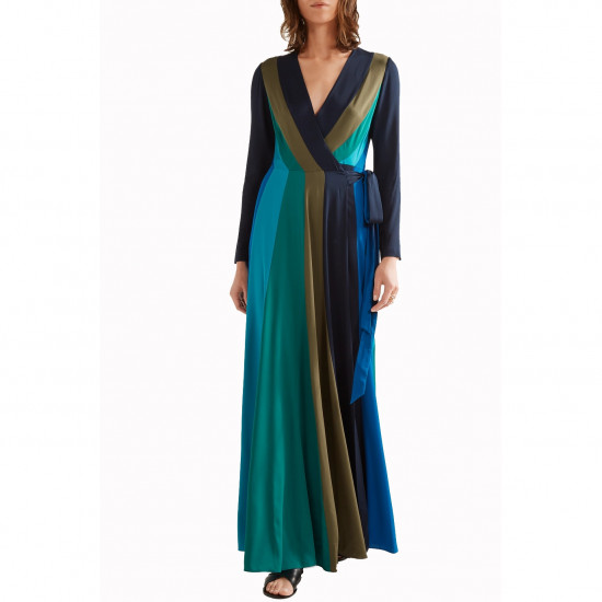 Diane von Furstenberg Penelope Long-Sleeve Wrap Dress