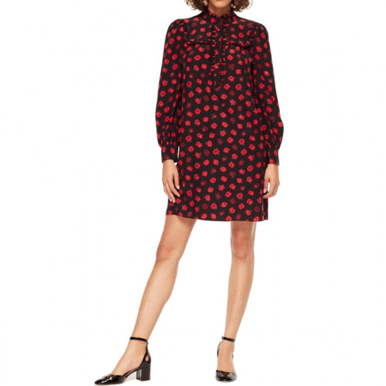 Kate Spade Poppy Print Mini Shirtdress