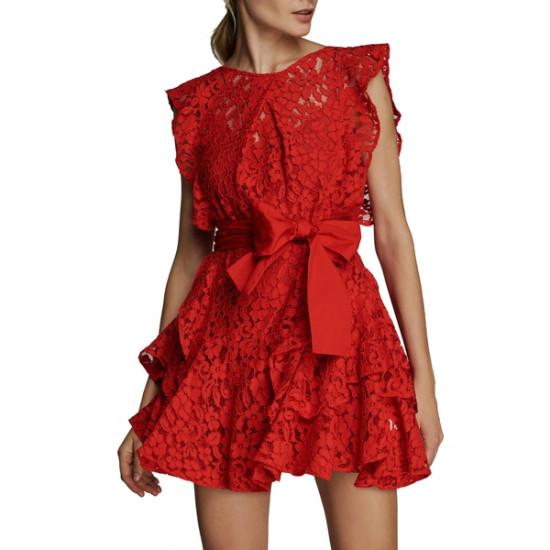 Marissa Webb Melodie Lace Mini Dress