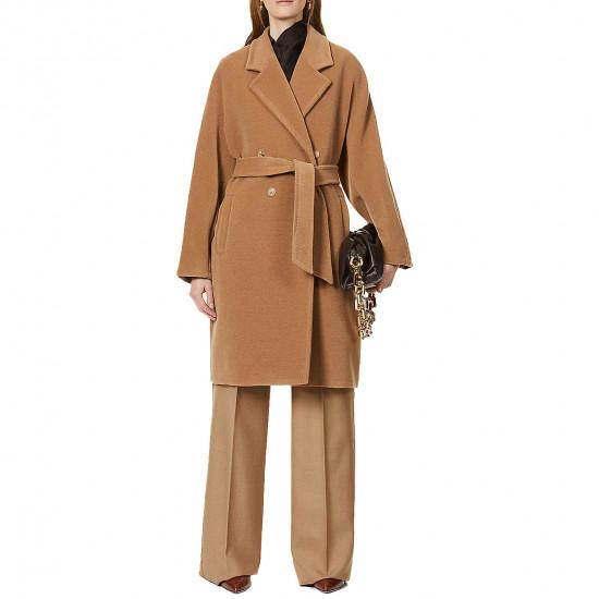 Max Mara Baiocco Camel & Wool Coat