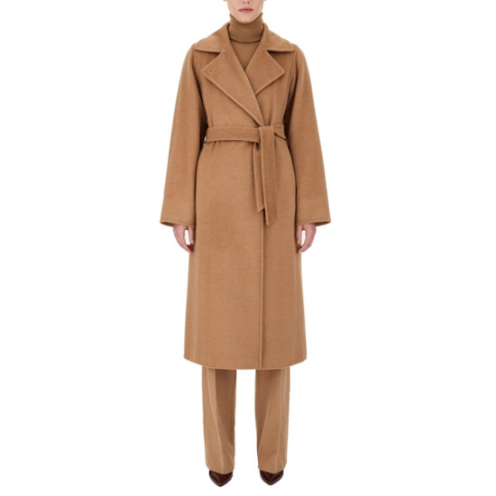 Max Mara Manuela Icon Camel Hair Coat