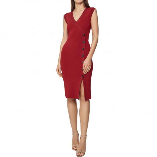 Reiss Eleni Knitted Bodycon Dress