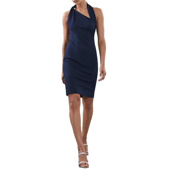 Reiss Varesse Twisted Neck Dress