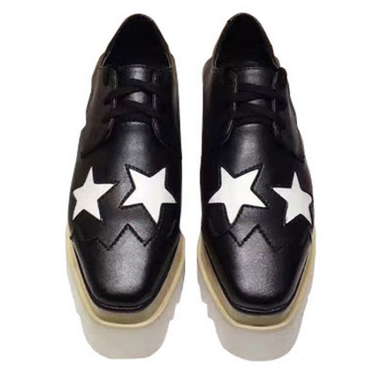 Stella McCartney Star Platform Brogues