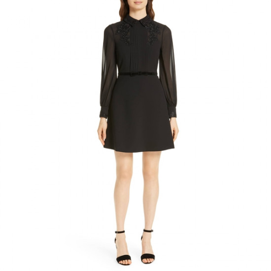 Ted Baker Amaali Embellished Collar Dress