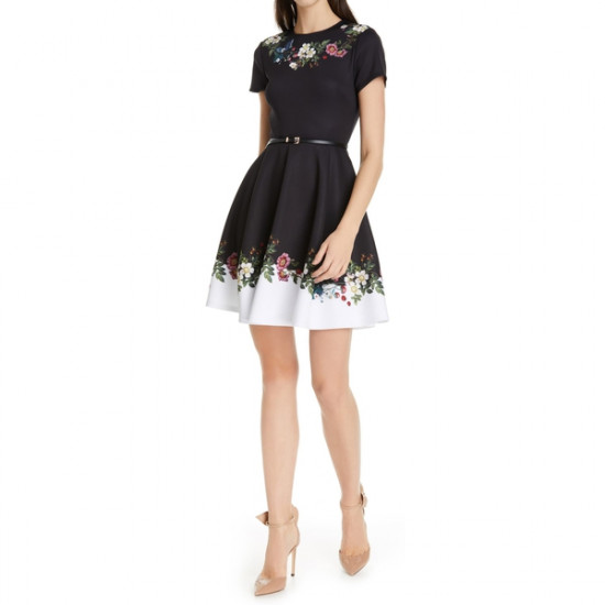 Ted Baker Chestna Oracle Skater Dress