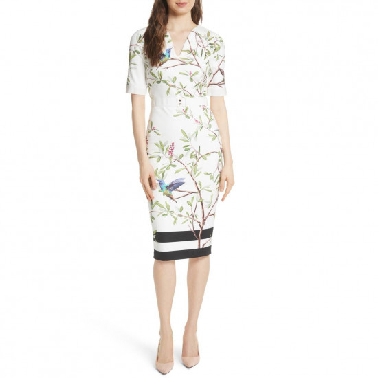Ted Baker Everly Highgrove Sleeved Bodycon Dress