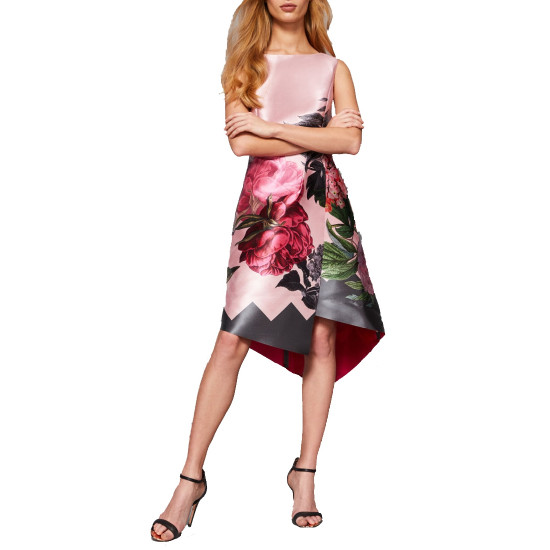 Ted Baker Joyclyn Palace Gardens Asymmetric Dress