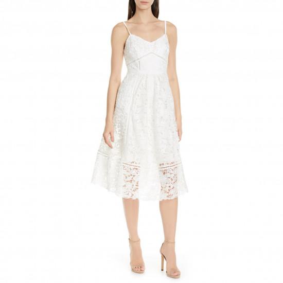 Ted Baker London Valens Lace Midi Dress