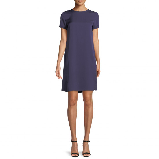 Theory Modern Silk Tee Dress