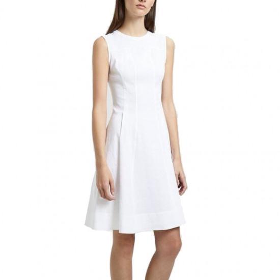 Theory Modern Tea Organic Crunch Linen Dress