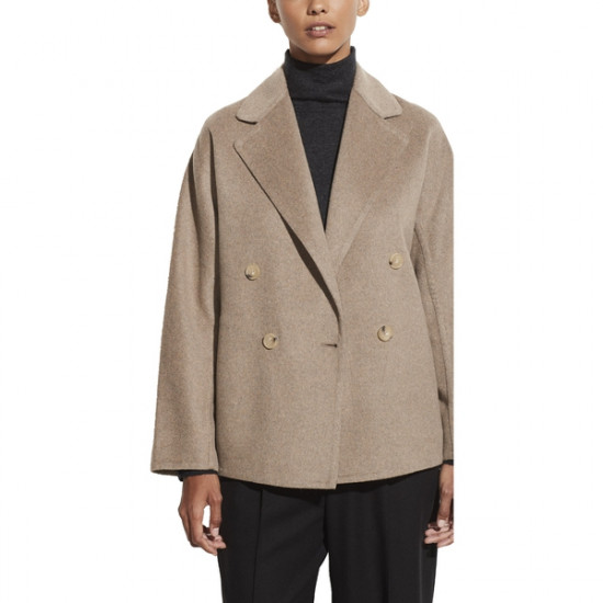Vince Belted Wool-Blend Cardigan Jacket