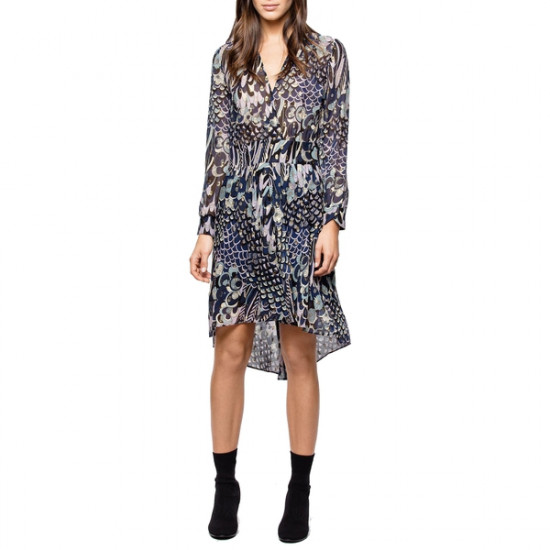 Zadig & Voltaire Roumy Lurex Dress
