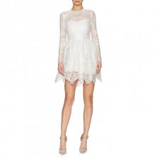 Alexis Malin Long-Sleeve Lace Mini Dress