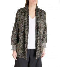 Zadig & Voltaire Mia Mélange Knit Cotton Cardigan