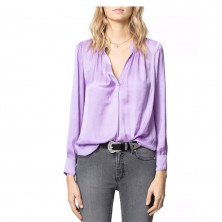 Zadig & Voltaire Tink Satin Blouse