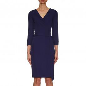 Diane von Furstenberg New Julian Two Printed Stretch-Jersey Wrap Dress