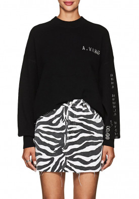Alexander Wang Credit Card Crewneck Sweater