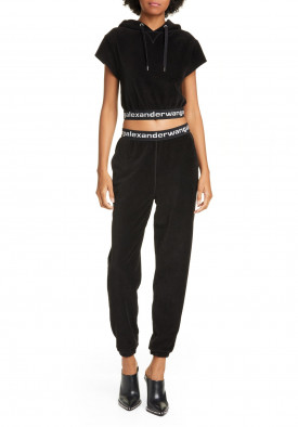 Alexanderwang.T Stretch Corduroy Logo Sweatpants