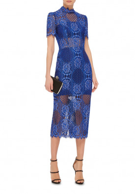 Alexis Delila Lace Sheath Dress