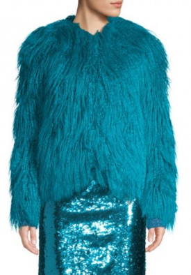 Alice + Olivia Verity Faux Fur Coat