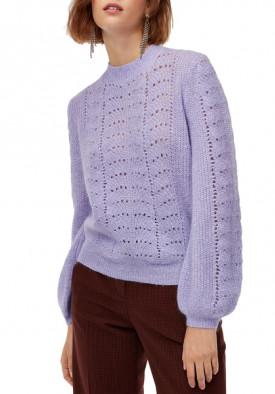 Aritzia Little Moon Gardenia Pointelle Crewneck Sweater