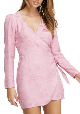 Aritzia Wilfred Callie Dress 80s Party Wrap Dress