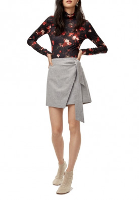 Aritzia Wilfred Dorine Wrap Mini Skirt