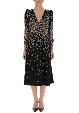Bottega Veneta Butterfly Printed Dress