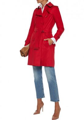Burberry Chelsea Cotton Gabardine Trench Coat