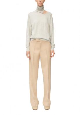 Céline Cutout Wool & Silk Blend Turtleneck Sweater