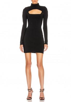 Dion Lee Stirrup Fitted Mini Dress
