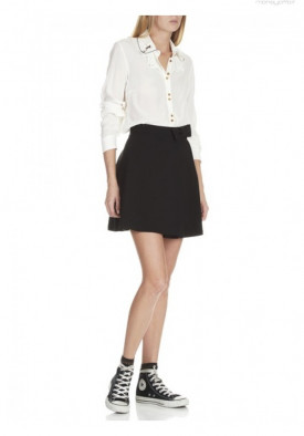 Idano Lille Embroidered Collar Blouse