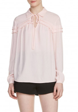 Maje Lubin Shirt Collar Blouse