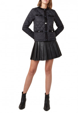 Maje Galipe Quilted Down Puffer Jacket