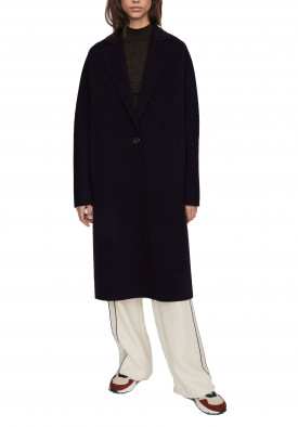 Maje Gina Wool Blend Long Coat