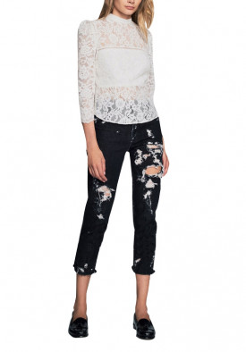 Marissa Webb Georgie Lace Blouse