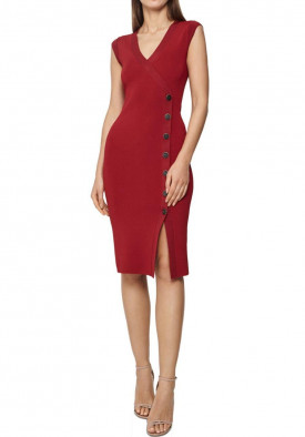 Reiss Eleni Knitted Bodycon Dress