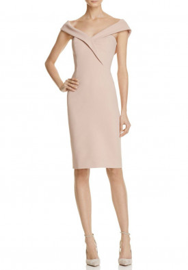 Reiss Haddi Off-the-Shoulder Dress