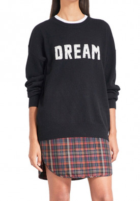 Sandro Charles Dream Wool & Cashmere Graphic Sweater