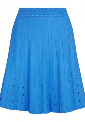 Sandro Eyelet Quincy Top & Izzy Pleated Skirt