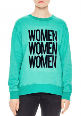 Sandro Tulipe Women Graphic Sweatshirt