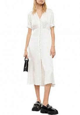 The Kooples Button Front Robe Dress