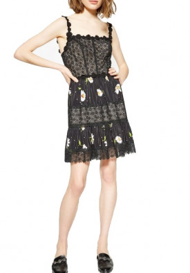 The Kooples Daisy Love Lace Mini Dress